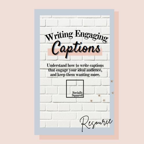 Writing Engaging Captions- eBook