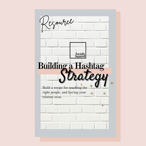 Building an Effective Hashtag Strategy-eBook