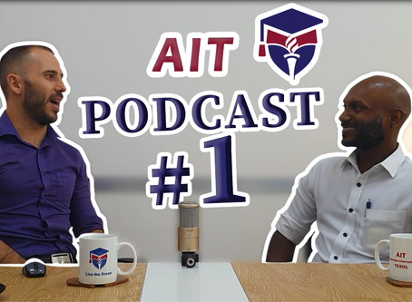 AIT TESOL's NEW Podcast series is here!