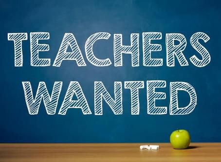ESL Teaching Jobs Noticeboard