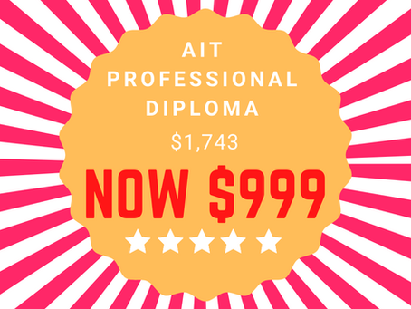 AIT Professional Diploma promotion!