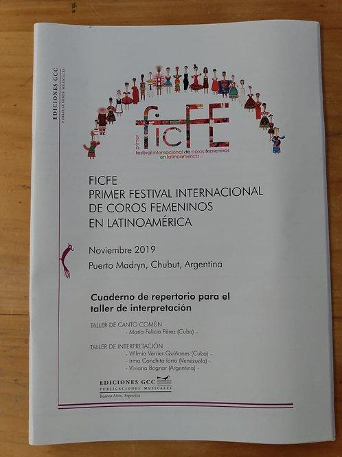 Libro Taller de Interpretación FICFE 2019