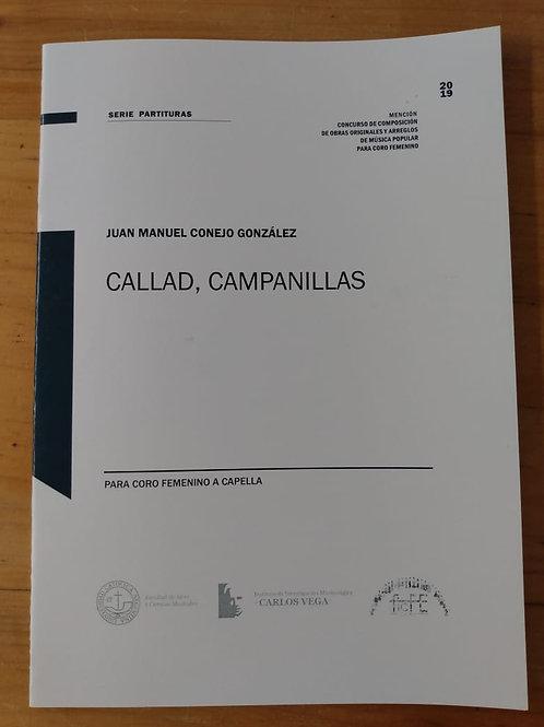 Callad, campanillas - Mención Concurso de Composición FICFE 2019
