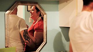 Jenn with Paul mirror.jpg