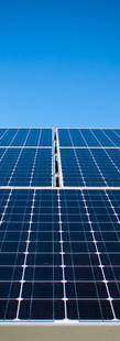 Renewable energy is becoming cheaper than from fossil fuels.