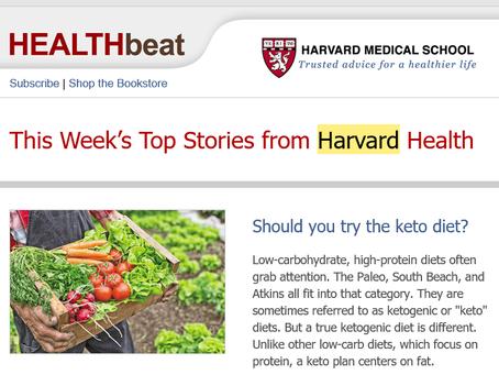 Harvard Medical Review Gets Natural!