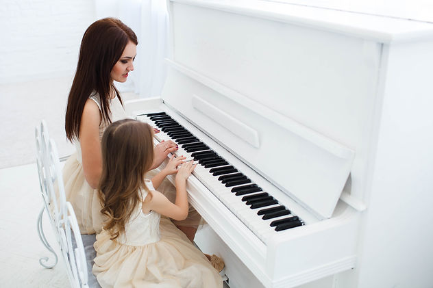 look-from-mother-daughter-playing-white-