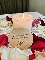 Memorial Candles Marriage Celebrant  Victoria Langham  Hunter Valley/ Newcastle/ Maitland