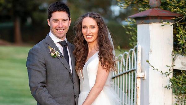 MAFS 2021 Belinda & Patrick Marriage Celebrant  Victoria Langham  Hunter Valley/ Newcastle/ Maitland