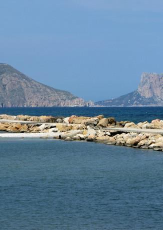 Altea bay towards Calpe