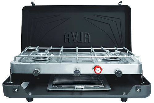 Double Burner Grill Stove
