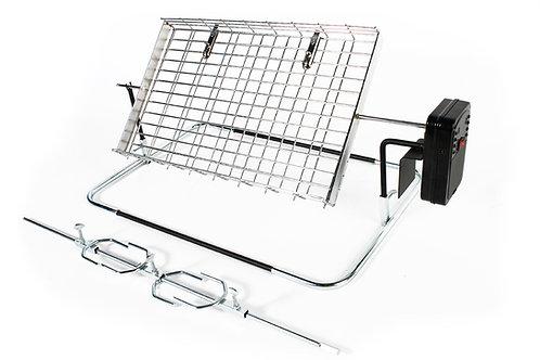 LKs Rotisserie - Large flat basket & spit