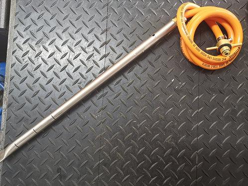 Gas Firelighter Stainless Steel