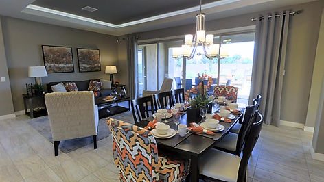 Virtually staged home