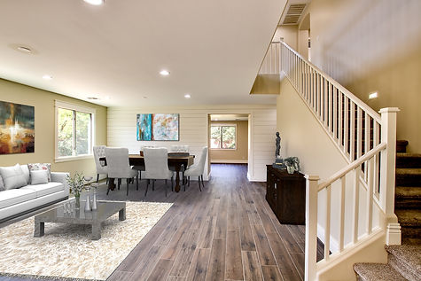 After virtual staging