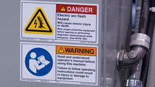 """Yes, we have arc flash labels on our panels."""