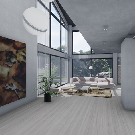 Blick zum Wohnraum