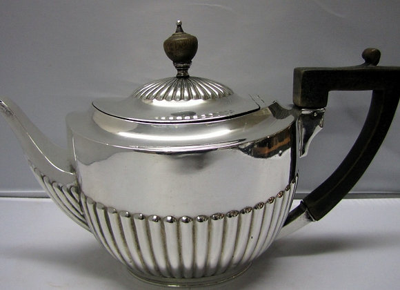 1897 WILLIAM HUTTON SILVER TEAPOT