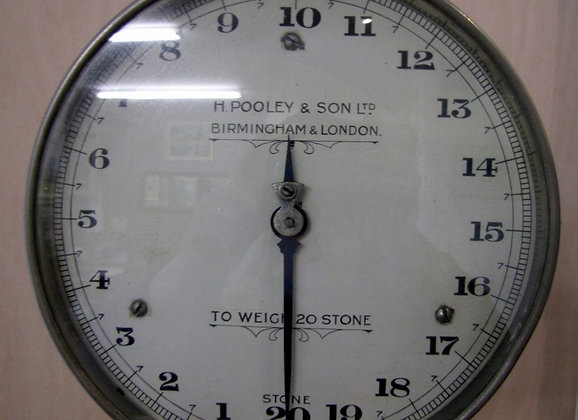 H.POOLEY & SONS WEIGHING SCALES   SOLD