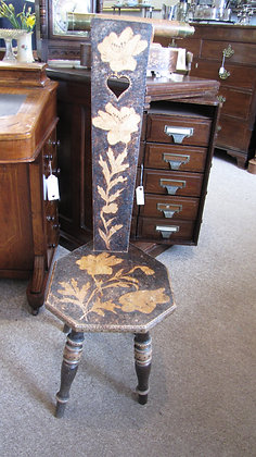 Early 20th Century decorative spinning chair
