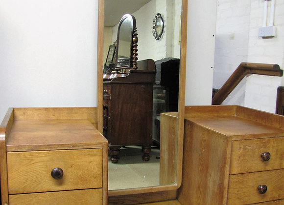 GORDON RUSSELL COTSWOLD SCHOOL MODERNIST OAK DRESSING TABLE
