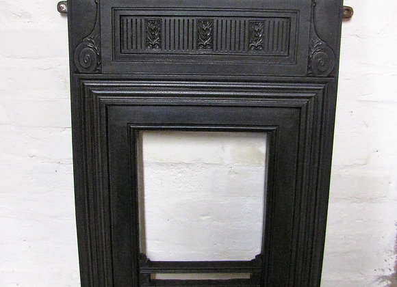 Victorian Coalbrookdale cast iron fireplace
