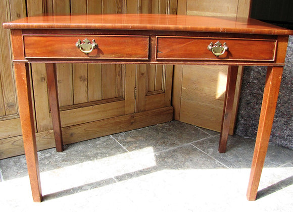 Antique Mahogany Side/Writing table
