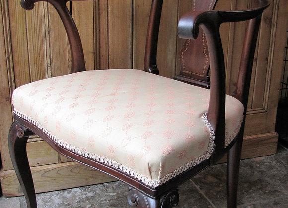 Elegant Antique Elbow Chair