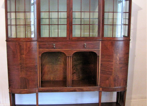 ARTS & CRAFTS DISPLAY CABINET BY MAPLE &CO.