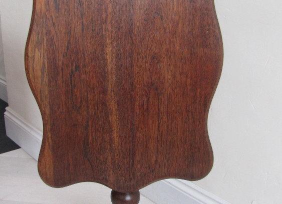 Victorian Oak Tilt Top Table