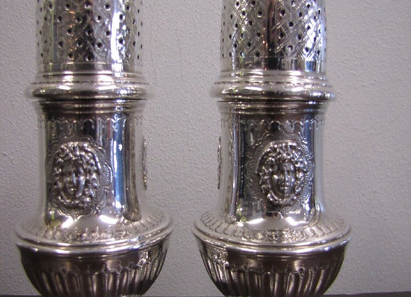 Pair Of George II Urn Shaped Casters