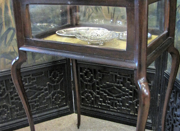 EDWARDIAN BIJOUTERIE DISPLAY TABLE