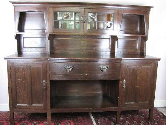 Liberty & Co Arts & Crafts Oak 'Milverton' Dresser
