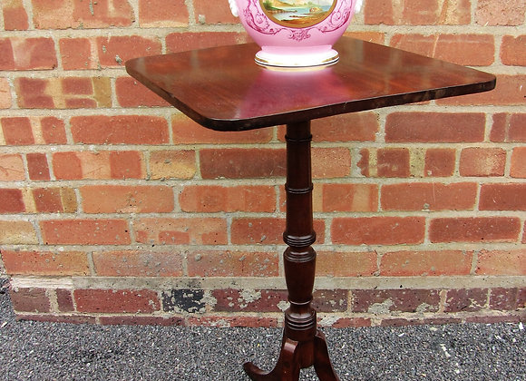 Early 19th Century Wine Or Lamp Table