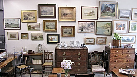 Fabulous Finds Antiques Shop Interior