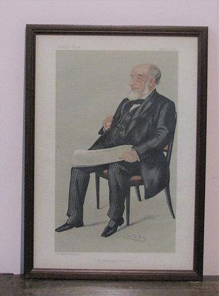 Vanity Fair Spy print of Mr. John Jaffray. 1890