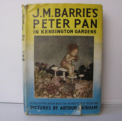 J M Barrie. Peter Pan in Kensington Gardens