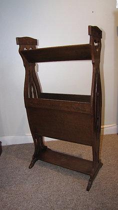Arts & Crafts Oak Book Stand
