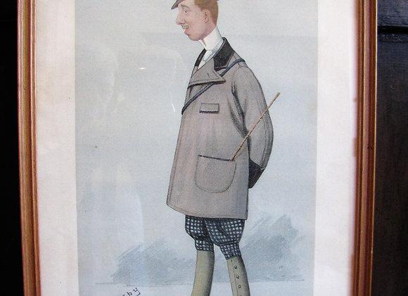 Vanity Fair Spy print of 'Viscount Dangan'
