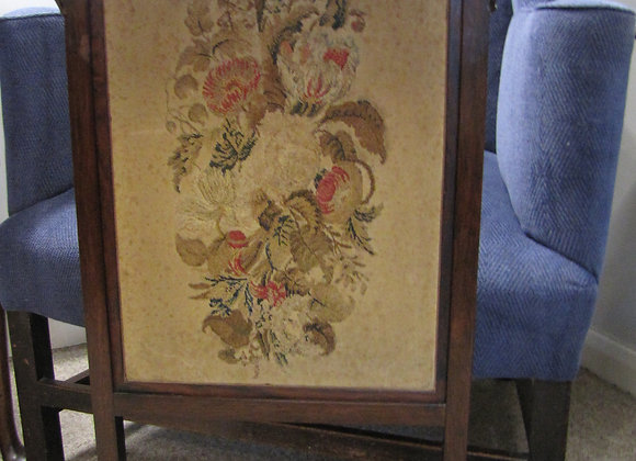 19th Century Rosewood Adjustable Firescreen