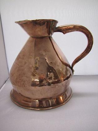19th Century Copper Haystack 1 Gallon Measure