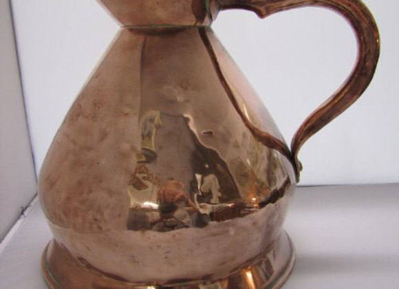 19th Century Copper Haystack 1 Gallon Measure