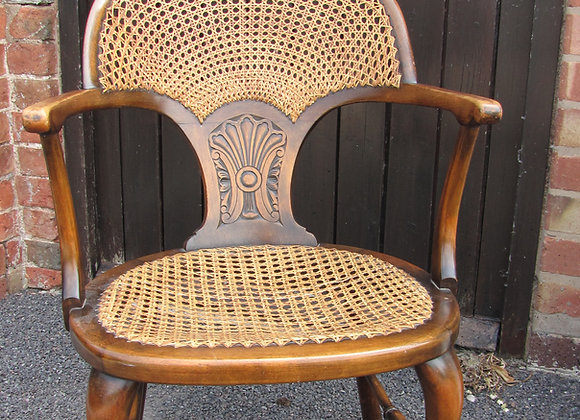 DECORATIVE BERGERE CHAIR