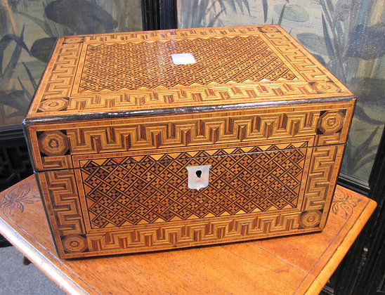 Stunning Antique Dressing or Jewellery Box