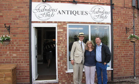 Antiques road trip with Charles Hanson and Mark Stacey visit Fabulous Finds Antiques.