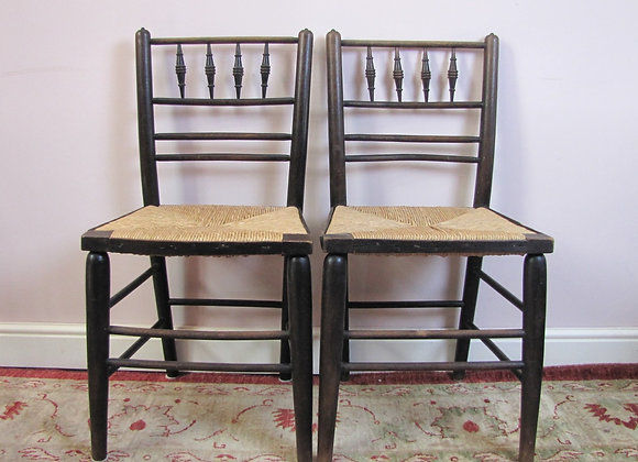Pair of Morris & Co Sussex Chairs