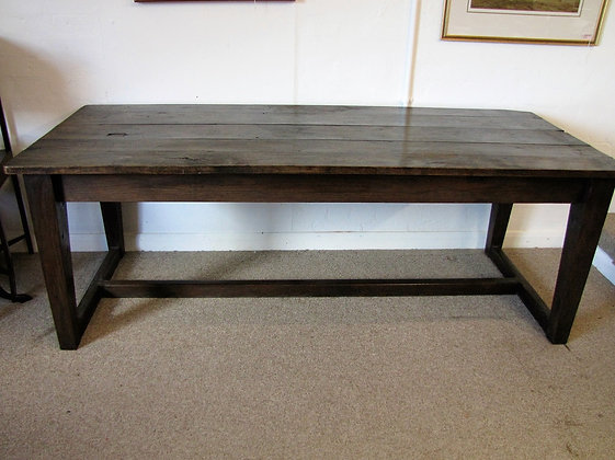 ANTIQUE REFECTORY/KITCHEN TABLE