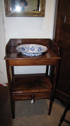 Georgian mahogany washstand