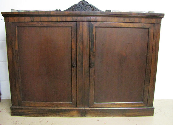 19th Century Rosewood Buffet Cabinet
