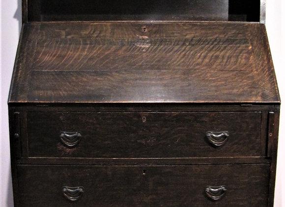 Liberty & Co Arts & Crafts Oak Bureau Bookcase